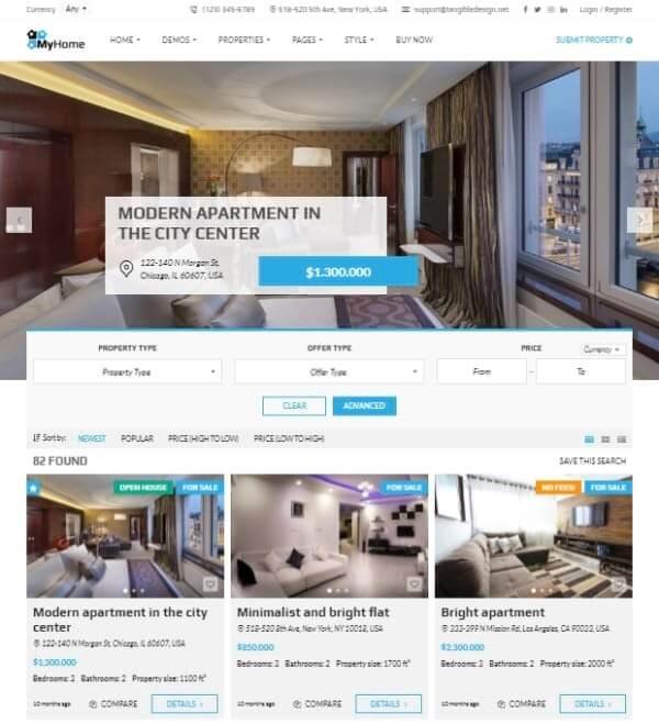 Real Estate Web Design - Web desinge agency in UK