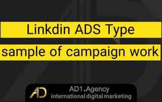 Linkdin ads type